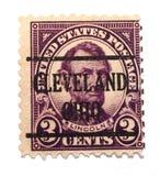 γραμματόσημο του Abraham Λίνκολν Στοκ φωτογραφία με δικαίωμα ελεύθερης χρήσης