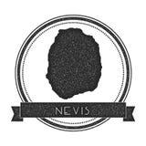 Γραμματόσημο χαρτών Nevis ελεύθερη απεικόνιση δικαιώματος
