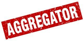 γραμματόσημο aggregator Διανυσματική απεικόνιση
