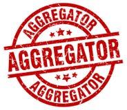 γραμματόσημο aggregator Απεικόνιση αποθεμάτων