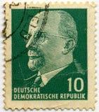 Γραμματόσημο Deutsche Στοκ φωτογραφία με δικαίωμα ελεύθερης χρήσης