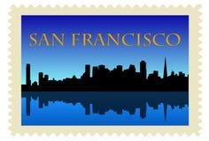 γραμματόσημο Francisco SAN Στοκ Εικόνες