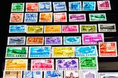 Γραμματόσημο Romana Posta Στοκ φωτογραφίες με δικαίωμα ελεύθερης χρήσης
