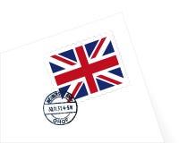 γραμματόσημο UK απεικόνιση&sigm απεικόνιση αποθεμάτων