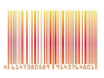 γραμμωτός κώδικας ζωηρόχρ&om Στοκ Εικόνες