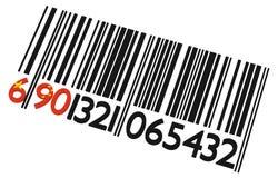 Γραμμωτός κώδικας Κίνα Στοκ φωτογραφία με δικαίωμα ελεύθερης χρήσης