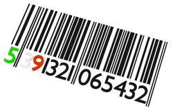 Γραμμωτός κώδικας Στοκ εικόνες με δικαίωμα ελεύθερης χρήσης