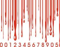 Γραμμωτός κώδικας και αίμα απεικόνιση αποθεμάτων