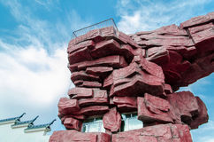 700 γρανίτες αψίδων της Αφρικής εκατομμύρισσα περισσότερη παλαιά πέτρα spitzkoppe της Ναμίμπια από τα έτη Στοκ φωτογραφίες με δικαίωμα ελεύθερης χρήσης