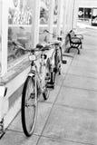 Γραπτά εκλεκτής ποιότητας ποδήλατα Στοκ Φωτογραφίες