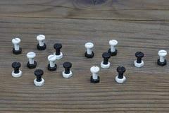 Γραπτά καρύδια - και - μπουλόνια στοκ φωτογραφία με δικαίωμα ελεύθερης χρήσης