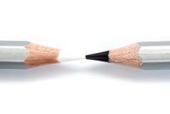 Γραπτά μολύβια στη Λευκή Βίβλο Στοκ Εικόνα