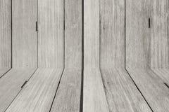 Γραπτά ξύλινα ταπετσαρία και πάτωμα Στοκ Εικόνα