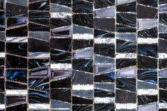 Γραπτά χρωματισμένα κεραμίδια υποβάθρου μωσαϊκών στοκ φωτογραφίες με δικαίωμα ελεύθερης χρήσης