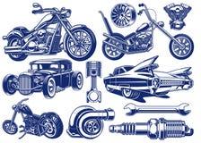 Γραπτές απεικονίσεις του θέματος μεταφορών απεικόνιση αποθεμάτων