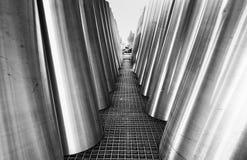 Γραπτές λεπτομέρειες αρχιτεκτονικής Στοκ Εικόνα