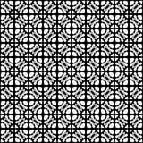 Γραπτή άνευ ραφής γεωμετρική επένδυση σχεδίων στοκ φωτογραφία