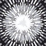 Γραπτή έκρηξη Ray Abstract Background Στοκ εικόνες με δικαίωμα ελεύθερης χρήσης
