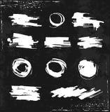 Γραπτή βούρτσα στο ύφος του grunge Στοκ φωτογραφίες με δικαίωμα ελεύθερης χρήσης