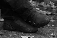 Γραπτή εικόνα των παπουτσιών στοκ φωτογραφία με δικαίωμα ελεύθερης χρήσης