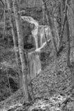 Γραπτή εικόνα των πτώσεων κορυφογραμμών πτώσεων στοκ εικόνες με δικαίωμα ελεύθερης χρήσης