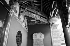 Γραπτή λεπτομέρεια ναών Στοκ Εικόνες