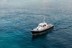 Γραπτή πειραματική βάρκα Στοκ Εικόνα