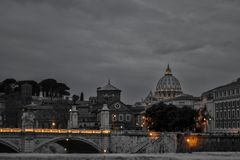 Γραπτή Ρώμη Στοκ Εικόνα