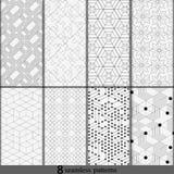 Γραπτή συλλογή υποβάθρων γραμμών Διανυσματική απεικόνιση