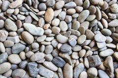 Γραπτή σύσταση υποβάθρου του τοίχου πετρών Στοκ Εικόνες
