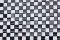 Γραπτή Checkerboard αφηρημένη σύσταση Στοκ φωτογραφία με δικαίωμα ελεύθερης χρήσης