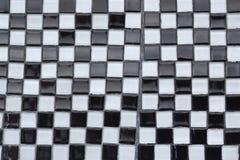 Γραπτή Checkerboard αφηρημένη σύσταση Στοκ Εικόνες