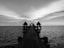 Γραπτός νεφελώδης ουρανός Στοκ εικόνες με δικαίωμα ελεύθερης χρήσης