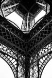 Γραπτός πύργος του Άιφελ στην πόλη του Παρισιού Γαλλία Στοκ Φωτογραφίες