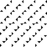 Γραπτό άνευ ραφής γεωμετρικό σχέδιο στοκ φωτογραφία