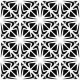 Γραπτό άνευ ραφής γεωμετρικό σχέδιο Διανυσματική απεικόνιση