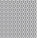 Γραπτό αφηρημένο γεωμετρικό σχέδιο Στοκ εικόνες με δικαίωμα ελεύθερης χρήσης
