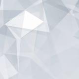 Γραπτό αφηρημένο διανυσματικό υπόβαθρο τριγώνων Στοκ φωτογραφία με δικαίωμα ελεύθερης χρήσης