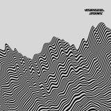 Γραπτό γεωμετρικό σχέδιο abstract background striped επίσης corel σύρετε το διάνυσμα απεικόνισης απεικόνιση αποθεμάτων