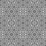 Γραπτό γεωμετρικό σχέδιο Στοκ εικόνα με δικαίωμα ελεύθερης χρήσης