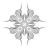 Γραπτό εθνικό σύμβολο Αντικείμενο που απομονώνεται - άσπρο υπόβαθρο Διανυσματική τυπωμένη ύλη Στοκ Φωτογραφία