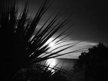Γραπτό ηλιοβασίλεμα Στοκ φωτογραφίες με δικαίωμα ελεύθερης χρήσης