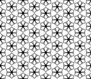 Γραπτό διανυσματικό σχέδιο λουλουδιών Στοκ εικόνα με δικαίωμα ελεύθερης χρήσης