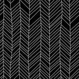 Γραπτό κατασκευασμένο γεωμετρικό αφηρημένο άνευ ραφής σχέδιο διακοσμήσεων σιριτιών, διάνυσμα Στοκ φωτογραφία με δικαίωμα ελεύθερης χρήσης