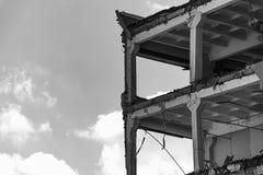 Γραπτό κτήριο στοκ φωτογραφία