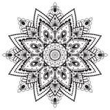 Γραπτό κυκλικό σχέδιο Στοκ εικόνα με δικαίωμα ελεύθερης χρήσης