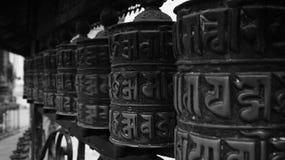 Γραπτό Νεπάλ (σειρά) Στοκ εικόνα με δικαίωμα ελεύθερης χρήσης
