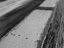 Γραπτό ξύλινο υπόβαθρο Στοκ Φωτογραφία