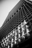 Γραπτό ουρανοξυστών γυαλί πετρών προσόψεων της Νέας Υόρκης στο κέντρο της πόλης Στοκ φωτογραφίες με δικαίωμα ελεύθερης χρήσης