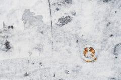 Γραπτό υπόβαθρο με τη σκουριασμένη έμφαση Στοκ Εικόνες